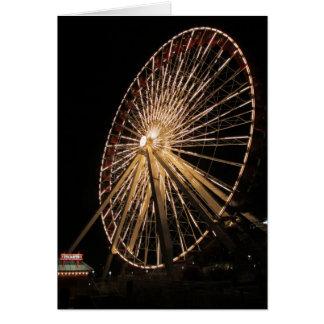 Late Night Ferris Wheel Card
