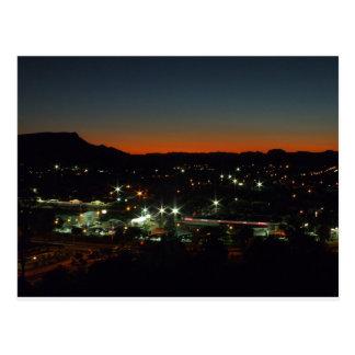 Late night in Alice Springs Postcard