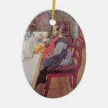 Late Riser at Breakfast Ornament