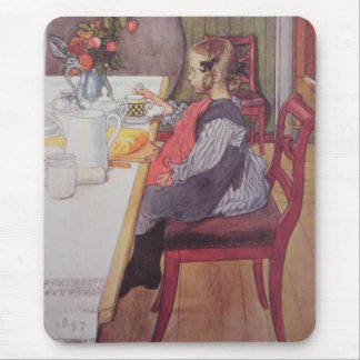 Late Riser to Breakfast Mouse Pad