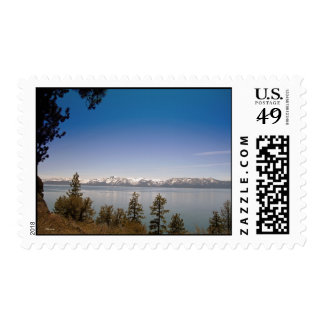 Late Spring in Lake Tahoe Postage