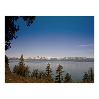 Late Spring in Lake Tahoe (Poster) Poster