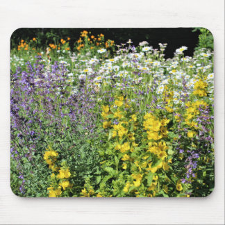 Late Spring Wild Flower Garden Mouse Pad