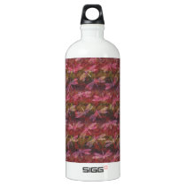 Late Summer Dragonfly Pattern Aluminum Water Bottle