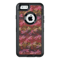Late Summer Dragonfly Pattern OtterBox Defender iPhone Case