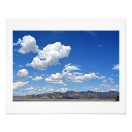 Late Summer in Butte Valley Nevada Photo Print