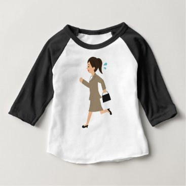 Professional Business Late to Work Baby T-Shirt