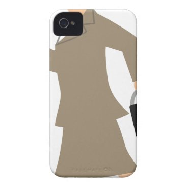 Professional Business Late to Work Case-Mate iPhone 4 Case