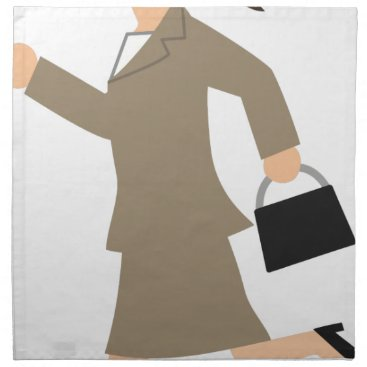 Professional Business Late to Work Cloth Napkin
