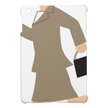 Professional Business Late to Work iPad Mini Cases