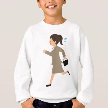 Professional Business Late to Work Sweatshirt