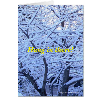 Late Winter Snow Card