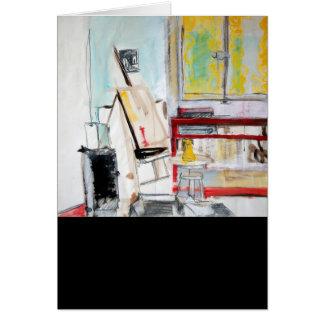 L'Atelier de l'Apprenti Peintre 1982 Card