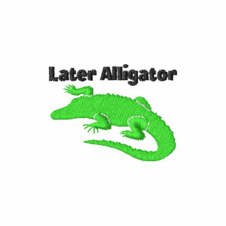 Later Alligator Embroidered Polo Shirt