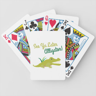 Later Alligator Deck Of Cards