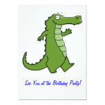 Later Gator Birthday Party 5x7 Paper Invitation Card