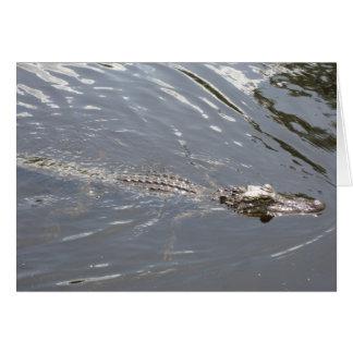 Later, gator! card