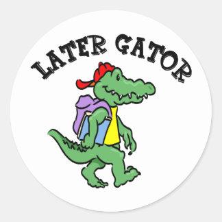 Later Gator Sticker