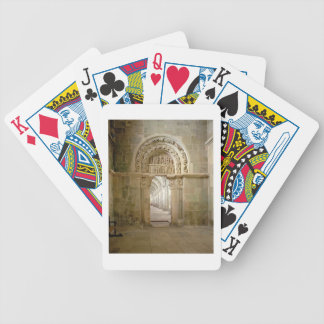 Lateral Portal, c.1125 (photo) Bicycle Playing Cards