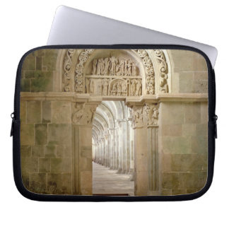 Lateral Portal, c.1125 (photo) Laptop Sleeve
