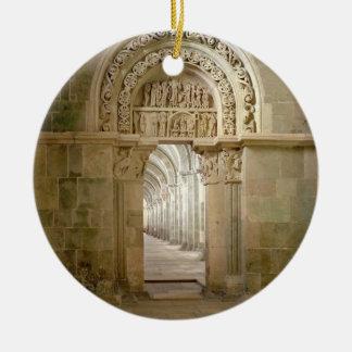 Lateral Portal, c.1125 (photo) Christmas Ornament