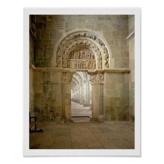 Lateral Portal, c.1125 (photo) Poster