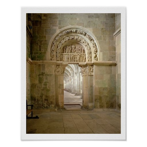 Lateral Portal, c.1125 (photo) Posters