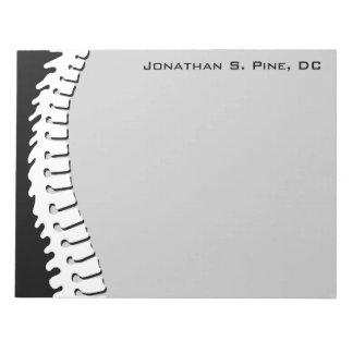 Lateral Spine Doctor Large Notepad