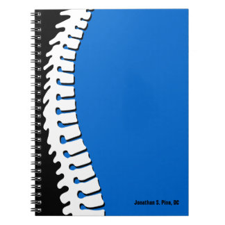 Lateral Spine Personalized Notebook