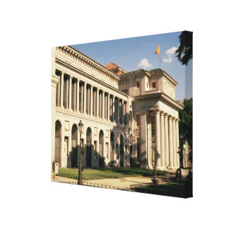 Lateral view of the Museum Canvas Print