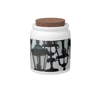 Latern Lamp Candy Dishes
