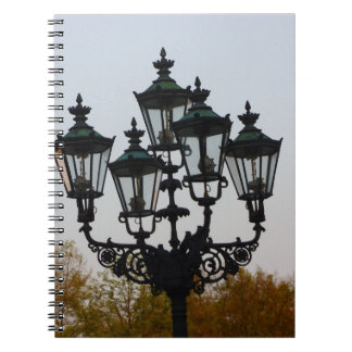 Latern Lamp Spiral Note Books