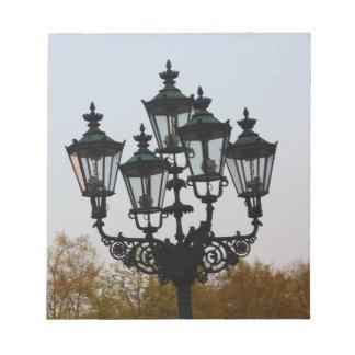 Latern Lamp Memo Note Pads