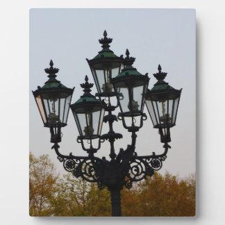Latern Lamp Plaque
