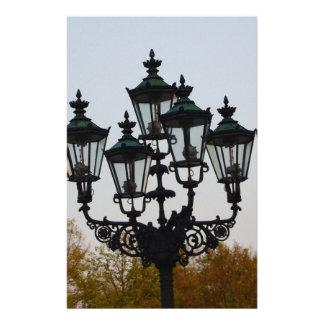 Latern Lamp Customized Stationery