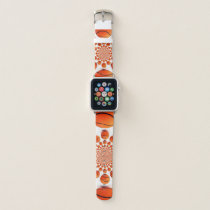 Latest Basketball Game Pattern Design Apple Watch Band