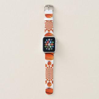 Latest Basketball Game Pattern Design Apple Watch Band