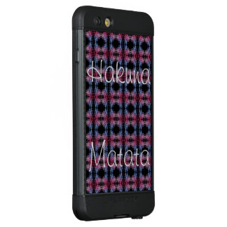 Latest Edgy Urban Polka dot  lovely masculine LifeProof NÜÜD iPhone 6s Plus Case