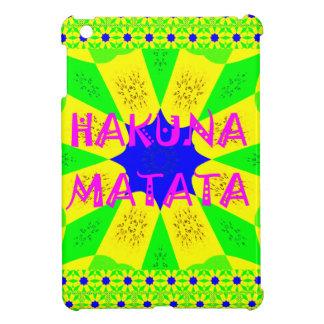 Latest Hakuna Matata Beautiful Amazing Design Colo iPad Mini Case