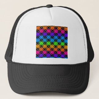 Latest lovely edgy colorful happy reflection desig trucker hat