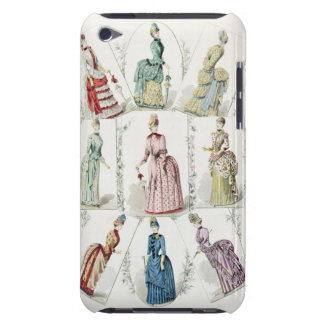 Latest Paris Fashions, nine day dresses in a fashi iPod Touch Cases