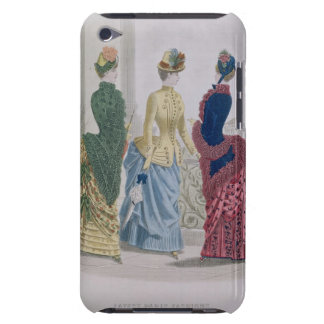 Latest Paris Fashions, three day dresses in a fash iPod Touch Covers