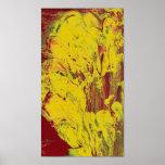 látex 003 (oro: Impresión mate ULTRAVIOLETA) Poster