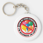Latex Allergy Keychains