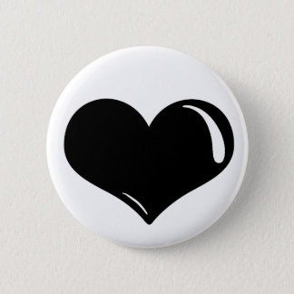 Latex Heart Pinback Button