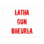 LATHA GUN BHEURLA card 2 Postcards