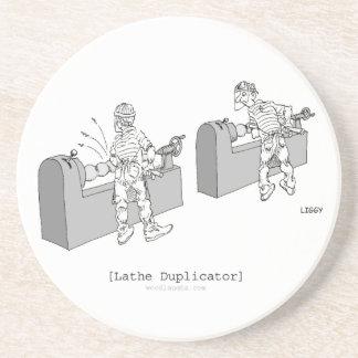 Lathe Duplicator Coaster
