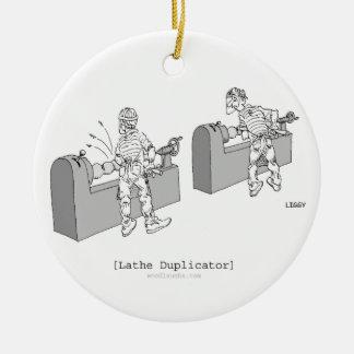 Lathe Duplicator Ornament (round, oval, square)
