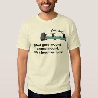 lathe logic 1 t shirt