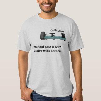 lathe logic 2 tee shirt